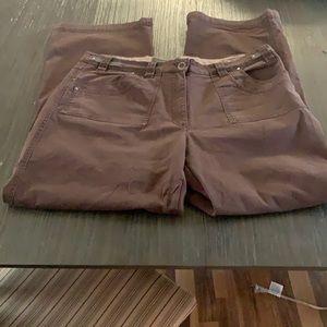 Cotton Ginny Size 16 Canvas Pants